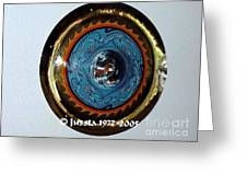 Freddie White Cymbal Earth Wind Fire Spirit Tour Greeting Card