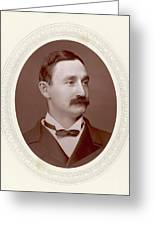 Frederick Gustavus Burnaby  Soldier Greeting Card