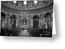 Frederik's Church Interior Greeting Card