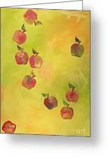 Free Apples Greeting Card