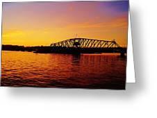 Free Bridge Greeting Card