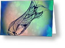 Free In The Rivers Greeting Card