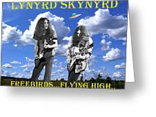 Freebirds Flying High Greeting Card
