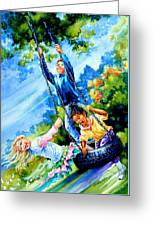 Freedom Chains Greeting Card