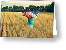 Freedom Field Greeting Card
