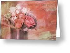 Freedom Flowers Greeting Card