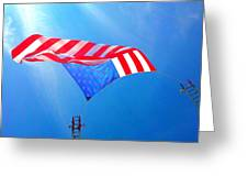 Freedom In Flight  Greeting Card