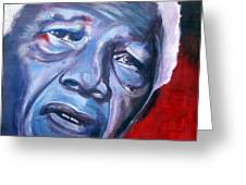 Freedom - Nelson Mandela Greeting Card