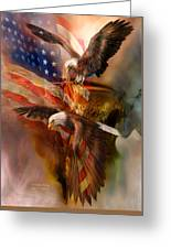 Freedom Ridge Greeting Card