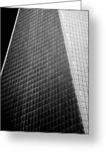 Freedom Tower Abstract Greeting Card