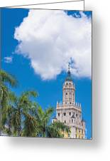 Freedom Tower Miami Dade College Greeting Card