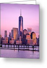 Freedom Tower Nyc Greeting Card