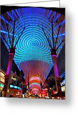 Freemont Street Experience One Greeting Card