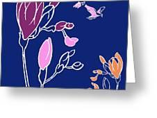 Freesia Greeting Card