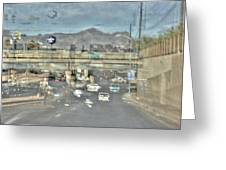 Freeway Greeting Card
