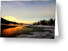Freezing Cold Greeting Card
