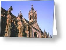 Freiburg Gothic  Greeting Card