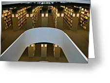 Freie Library Greeting Card