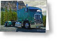 Freightliner Cabover Greeting Card