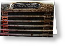 Freightliner Highway King Greeting Card