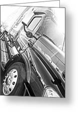 Freightliner Side View Greeting Card