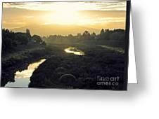 Fremont Dawn Greeting Card