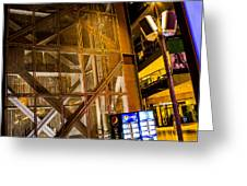 Fremont Street Structure Greeting Card