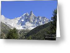 French Alps Greeting Card