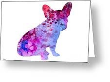 French Bulldog 3 Greeting Card