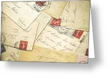 French Correspondence From Ww1 #1 Greeting Card
