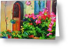 French Door Greeting Card