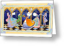 French Dream Dance Greeting Card