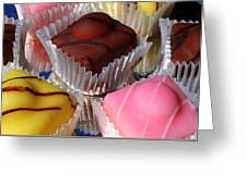 French Fancies Greeting Card