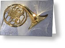 French Horn Iv Greeting Card