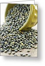 French Lentils Greeting Card