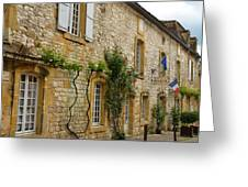 French City Hall Greeting Card