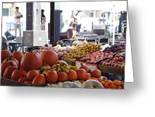 French Market - New Orleans Greeting Card by Katie Spicuzza