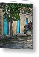 French Quarter Alley Greeting Card