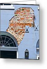 French Quarter Architecture Greeting Card