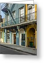 French Quarter Art And Artistry Greeting Card