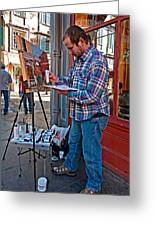 French Quarter Artist Greeting Card
