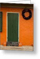 French Quarter Door - 33 Greeting Card
