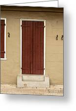 French Quarter Door - 34 Greeting Card