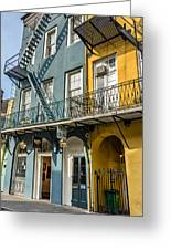 French Quarter Flair Greeting Card