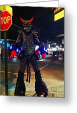 French Quarter Monster Greeting Card