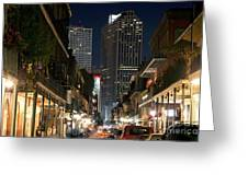 French Quarter New Orleans Louisiana Greeting Card