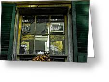 French Quarter Window Greeting Card