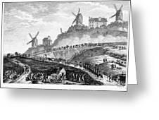 French Revolution Paris Greeting Card