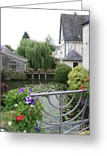 French Village Greeting Card