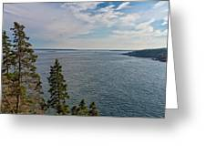 Frenchman Bay Greeting Card